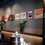 Imagen de Cuadros Exposicion Mirelu Expuestos en Restaurante Minotauro