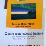 Cartel Exposición CSC Latina (Madrid)