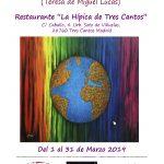 imagen Cartel Exposición en Restaurante La Hípica Tres Cantos