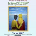 """imagen del Cartel de la Exposición """"Verano 2019"""""""